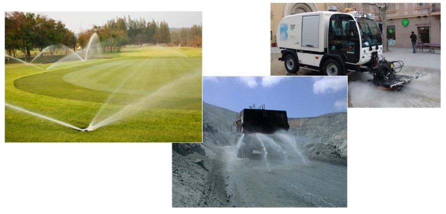 Posibles usos para la reutilización del agua almacenada